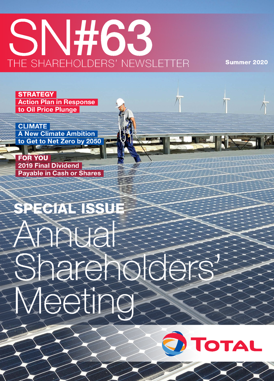 "Cover - ""The Shareholders' Newsletter #63"""