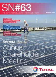 """Cover - """"The Shareholders' Newsletter #63"""""""